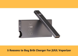 5 Reasons to Buy Brik Charger For JUUL Vaporizer