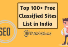 free classified sites list in india