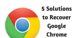 5 Solutions to Recover Google Chrome History Files