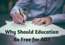 Why Should Education Be Free for All