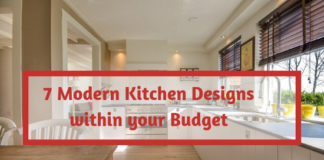 7 Modern Kitchen Designs within your Budget