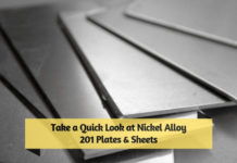 Take a Quick Look at Nickel Alloy 201 Plates & Sheets