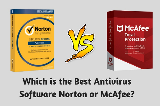 Which is the Best Antivirus Software Norton or McAfee?