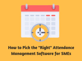 How to Pick the Right Attendance Management Software for SMEs