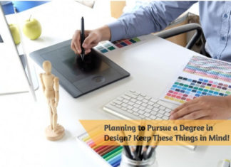 Planning to Pursue a Degree in Design