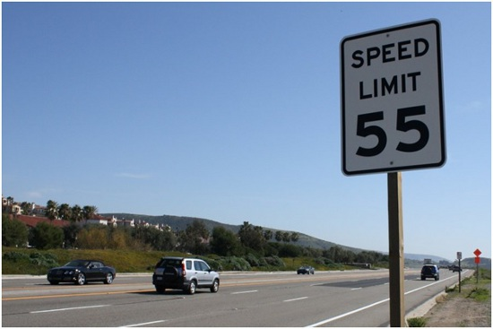 Obeying the speed limits