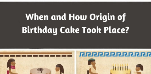 When and How Origin of Birthday Cake Took Place