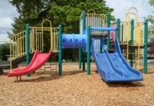 Ensure Safety with the Kids Friendly Outdoor Playground Equipment