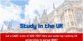 Got a GMAT score of 600-700 - Here are some top-ranking UK universities to pursue MBA