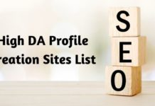 high da profile creation sites