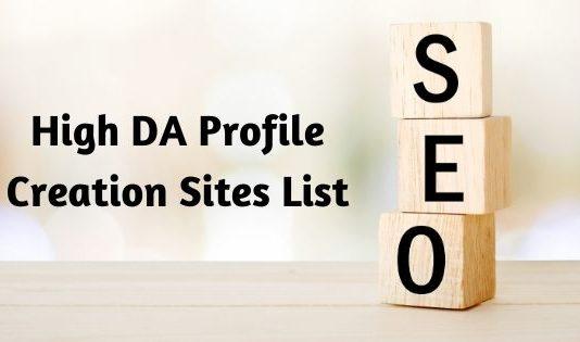 high da profile creation sites