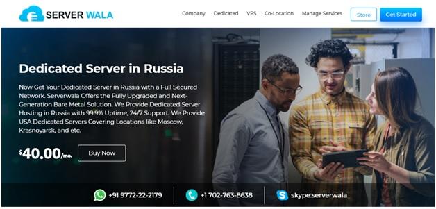 Why Choose Serverwala for Dedicated Server Hosting in Russia